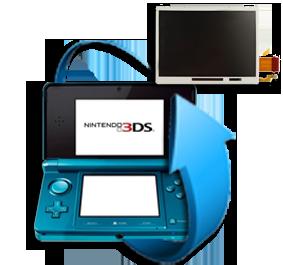 Remplacement écran LCD Nintendo 3DS XL (Bas)