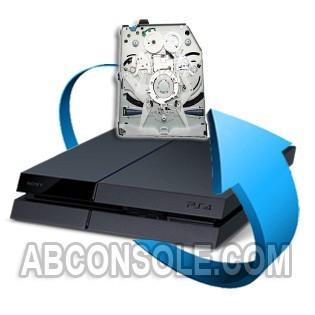 Remplacement Lecteur PS4 (sans carte fille)
