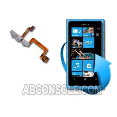 Remplacement nappe power Nokia Lumia 800