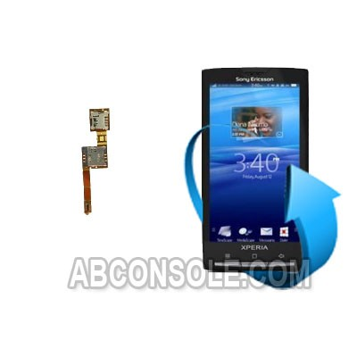 Remplacement nappe SIM Sony xperia x10