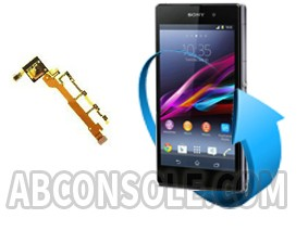 Remplacement nappe volume Sony xperia z1