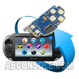 Remplacement PCB droit (touches boutons+Start/Select) PS Vita 2
