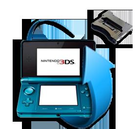 Remplacement port jeu Nintendo 3DS XL