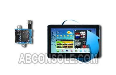 """Remplacement lecteur carte sim pour Samsung Galaxy Tab 3 10.1"""" (P5200)"""