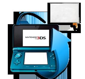 Remplacement écran tactile Nintendo 3DS