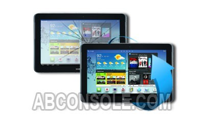 "Remplacement vitre tactile Samsung Galaxy Tab 2 10.1"" (P5100)"