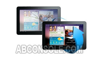 "Remplacement vitre tactile Samsung Galaxy Tab 3 7"" (P3200)"