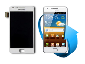 Remplacement écran Samsung Galaxy S2 (i9100) Blanc