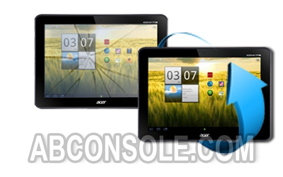 Remplacement vitre tactile Acer Iconia 200