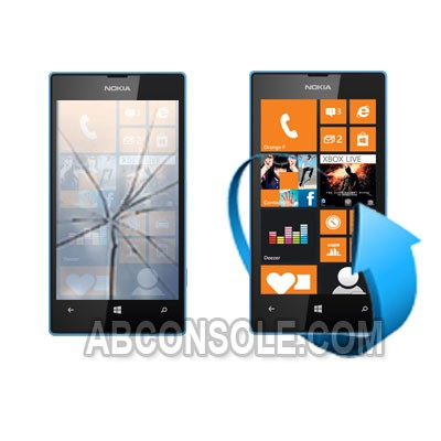 Remplacement vitre tactile Nokia Lumia 520