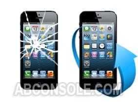 Remplacement écran iPhone 5 noir
