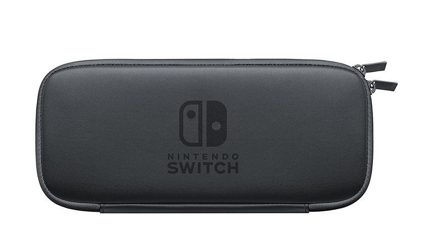 Sacoche de transport Noire pour Nintendo SWITCH