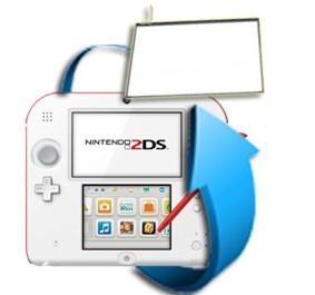 Remplacement écran tactile Nintendo 2DS