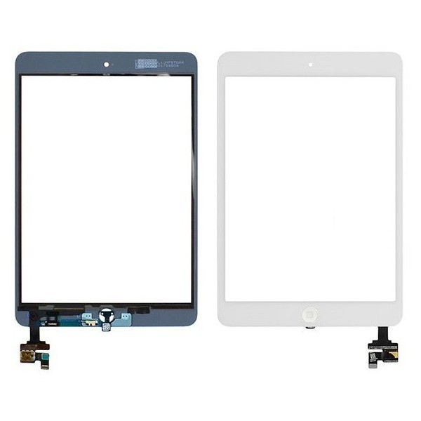 Vitre tactile ipad mini 2 (blanc)
