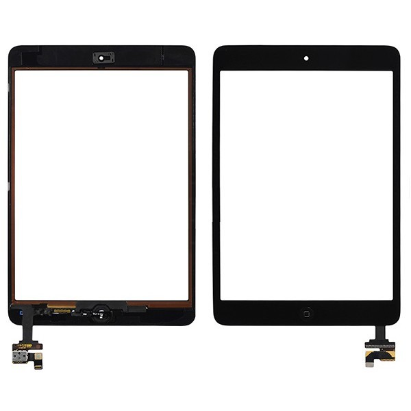 Vitre tactile iPad mini 2 (noir)