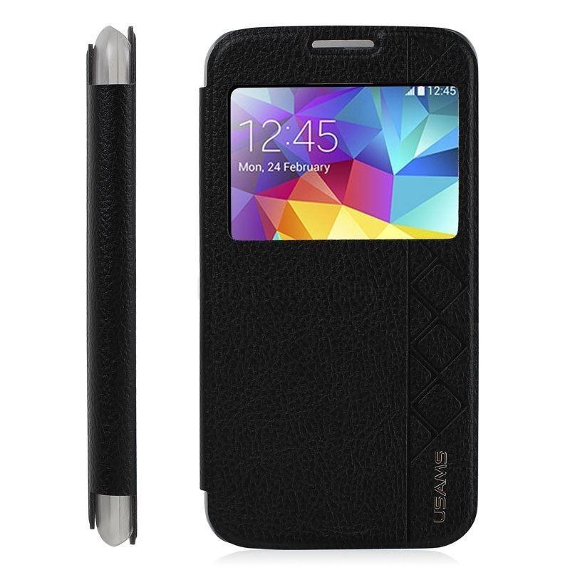 Flipcover pour Samsung Galaxy S5 Noir