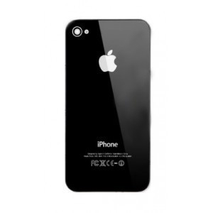 Vitre arrière Iphone 4S (noire)