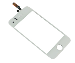 Vitre tactile iphone 3GS (blanc)