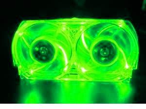 Ventilateur whisper Vert Xbox 360
