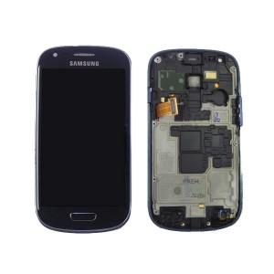 Ecran Samsung Galaxy S3 Mini bleu (i8190)