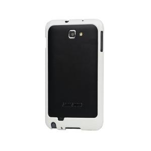 Bumper pour Samsung Galaxy Note i9220 (blanc)