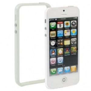 Bumper pour iphone 5 (blanc)