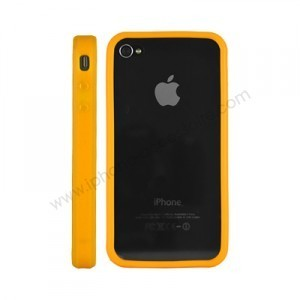 Bumper pour Iphone 4 (orange)