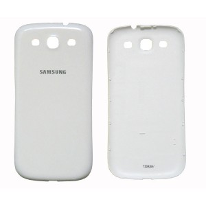 Cache batterie pour Samsung Galaxy S3 i9300 (blanc)