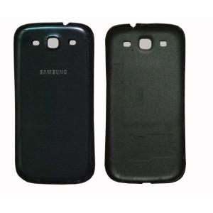 Cache batterie pour Samsung Galaxy S3 i9300 (bleu)