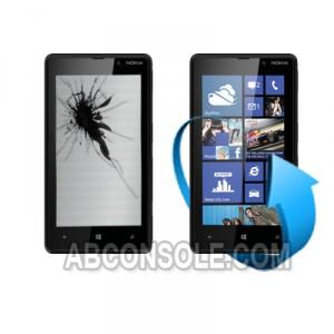 Remplacement écran tactile + LCD Nokia lumia 820