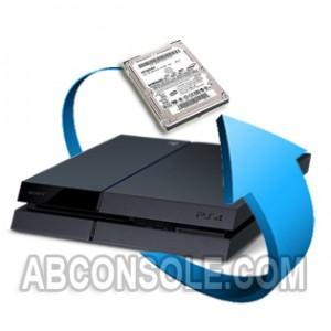 Remplacement disque dur 500 Go PS4
