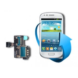Remplacement port sim Samsung Galaxy S4 Mini (i9190/ i9195)