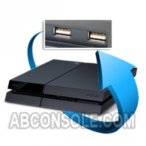 Remplacement port USB pour PS4