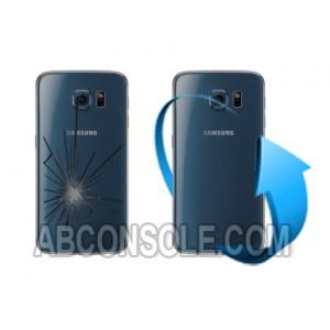 Remplacement vitre arrière Samsung Galaxy S6 EDGE / EDGE+