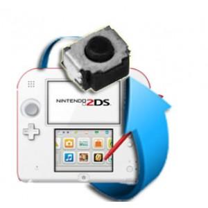 Remplacement bouton L ou R Nintendo 2DS