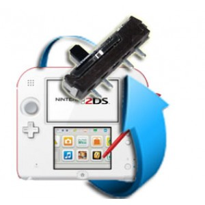 Remplacement bouton volume Nintendo 2DS