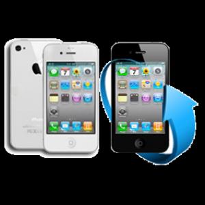 Remplacement écran + vitre arrière iPhone 4S (blanc)