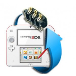 Remplacement Connecteur Batterie Nintendo 2DS