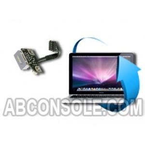 """Remplacement connecteur d'alimentation Macbook Pro unibody (13 """" / 15"""" ou 17"""")"""