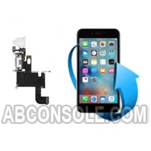 Remplacement nappe connecteur charge, micro et écouteurs Iphone 6 Plus