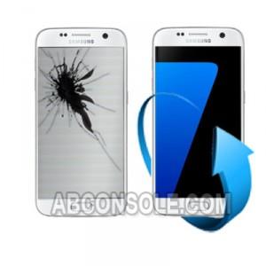Remplacement écran Samsung Galaxy S7 blanc (G930)