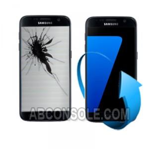 Remplacement écran Samsung Galaxy S7 EDGE noir (G935F)