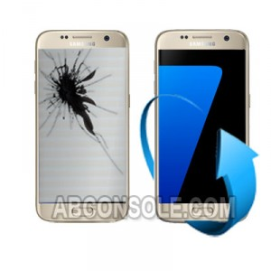 Remplacement écran Samsung Galaxy S7 EDGE or (G935F)