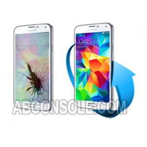 Remplacement écran Samsung Galaxy S5 Mini blanc (G800F)