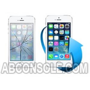 Remplacement écran iPhone 5S blanc