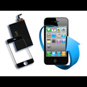 Remplacement écran tactile + LCD Iphone 4 noir