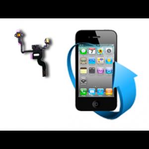 Remplacement nappe bouton power + capteur proximité iphone 4