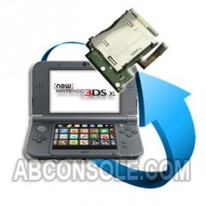 Remplacement port jeu Nintendo New 3DS XL