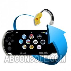 Remplacement connecteur alimentation PSP Street (E1000)