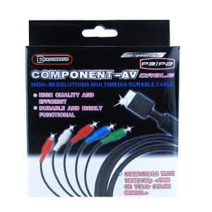 Cable YUV PS2/PS3  pour jeu import